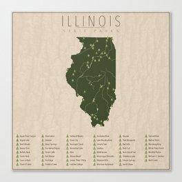 Illinois Parks Canvas Print