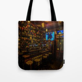 Old Irish Pub Tote Bag