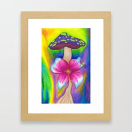 I'm Sad About The Thing With The Stuff - Mazuir Ross Framed Art Print