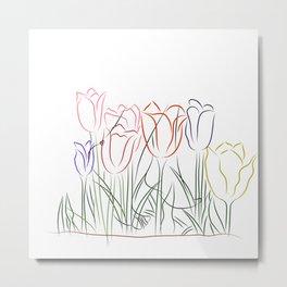 The Tulips Metal Print