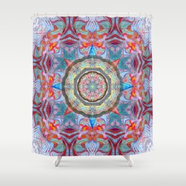 Blessings from the Wind Goddesses Shower Curtain