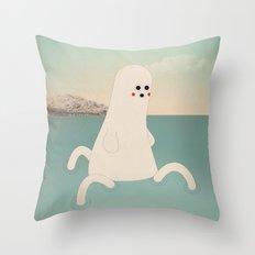 s - k a p p a Throw Pillow