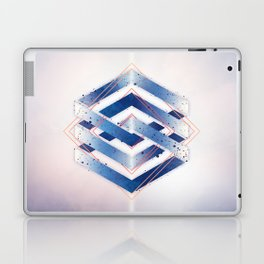 Floating Geometry :: Winter Hexagon Laptop & iPad Skin