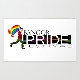 Bangor PRIDE Festival 2013  Art Print