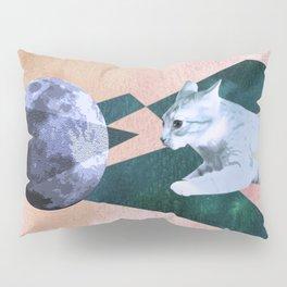 Orbital Cat Travel Pillow Sham