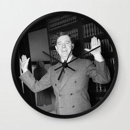 Huey Long - Louisiana Senator - 1935 Wall Clock