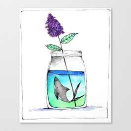 A Curious Jar Canvas Print