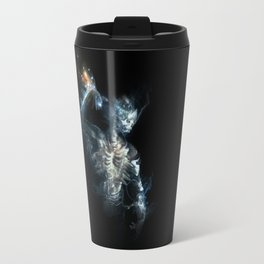 Fire on the Mound - In Broken Tongue Travel Mug