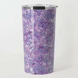 A Taste of Lilac Wine Travel Mug