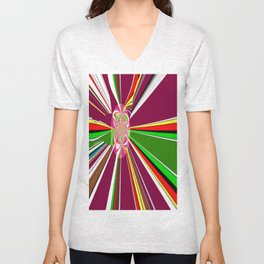 A burst of hope Unisex V-Neck