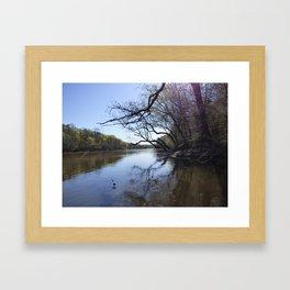 Cape Fear River Framed Art Print