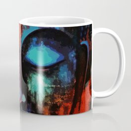 Lord Buddha Abstract Art Coffee Mug