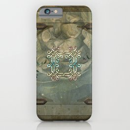 Wonderful decorative celtic knot iPhone Case
