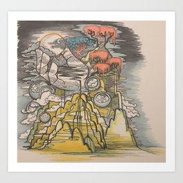 The Beast - 01 Art Print