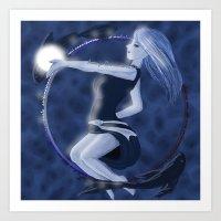 Fischi Art Print