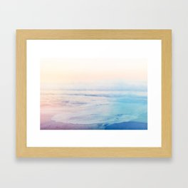 Smoke on the Water I Framed Art Print
