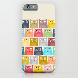 summer cats iPhone Case
