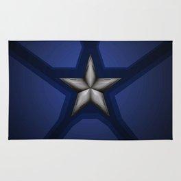 Captain Steve Rogers Rug
