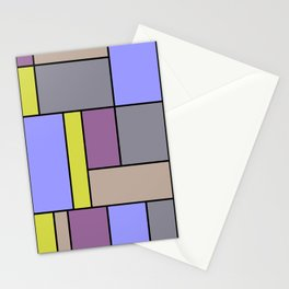 Mondrian #54 Stationery Cards