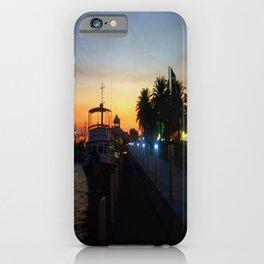Night falls at Lakes Entrance iPhone Case