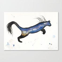 LA Milky Way Cougar Canvas Print