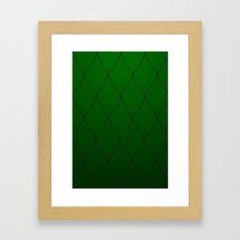 Emerald Dragon Framed Art Print