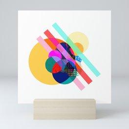 "COLLAGE: ""AGAIN 1"" Mini Art Print"