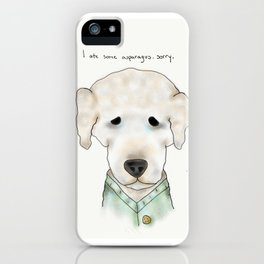 buddy the dog iPhone Case