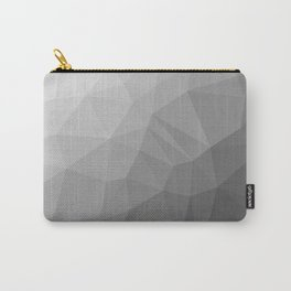 LOWPOLY BLACK AND WHITE Carry-All Pouch