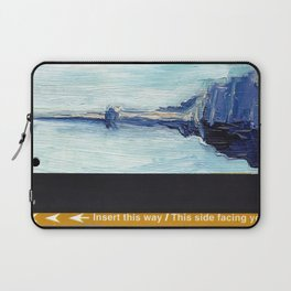Subway Card Empire State Building No. 1 Laptop Sleeve