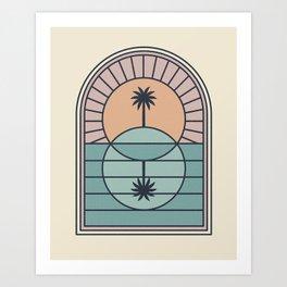 Venn Island Art Print