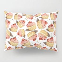 Pink Cupcakes Pillow Sham