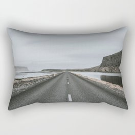 Empty Road - A Love Story Rectangular Pillow