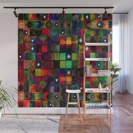 Urban Perceptions, Abstract Shapes Wall Mural