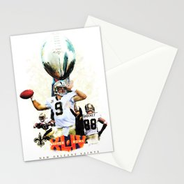 Super New Orleans Saints NFL Football Stationery Cards