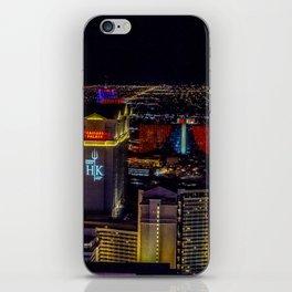 Las Vegas skyline photos iPhone Skin