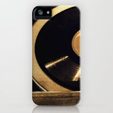 vintage music iPhone (5, 5s) Slim Case
