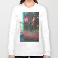 urban Long Sleeve T-shirts featuring Urban by Jane Lacey Smith