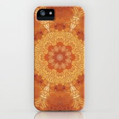 Golden mandala Slim Case iPhone (5, 5s)