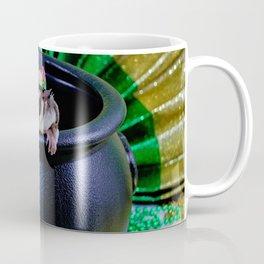 Fuzzy Leprechaun for St Patrick's Day Coffee Mug