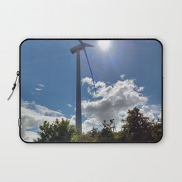 Wind Farm in the Sun Laptop Sleeve