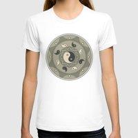 yin yang T-shirts featuring Yin Yang by TypicalArtGuy