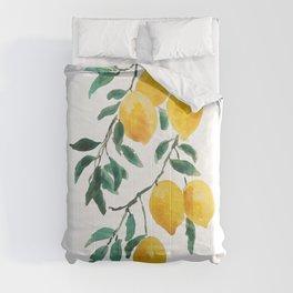 yellow lemon 2018 Comforters