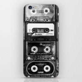 Something Nostalgic - black and white #decor #society6 #buyart iPhone Skin