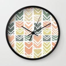 Sugar Wave Wall Clock