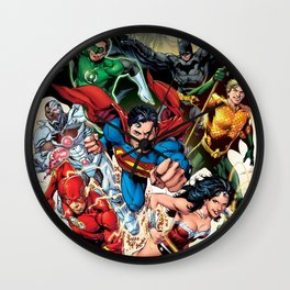 SUPER HERO Wall Clock