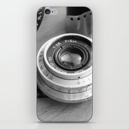 Accessories from old film cameras. iPhone Skin