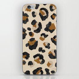 Leopard Print – Neutral Gold Light Palette iPhone Skin