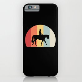 Horse Heartbeat Riding Gallop Foal Equestrian Gift iPhone Case