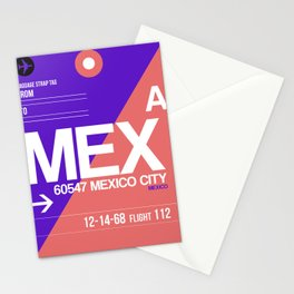 MEX Mexico City Luggage Tag 1 Stationery Cards